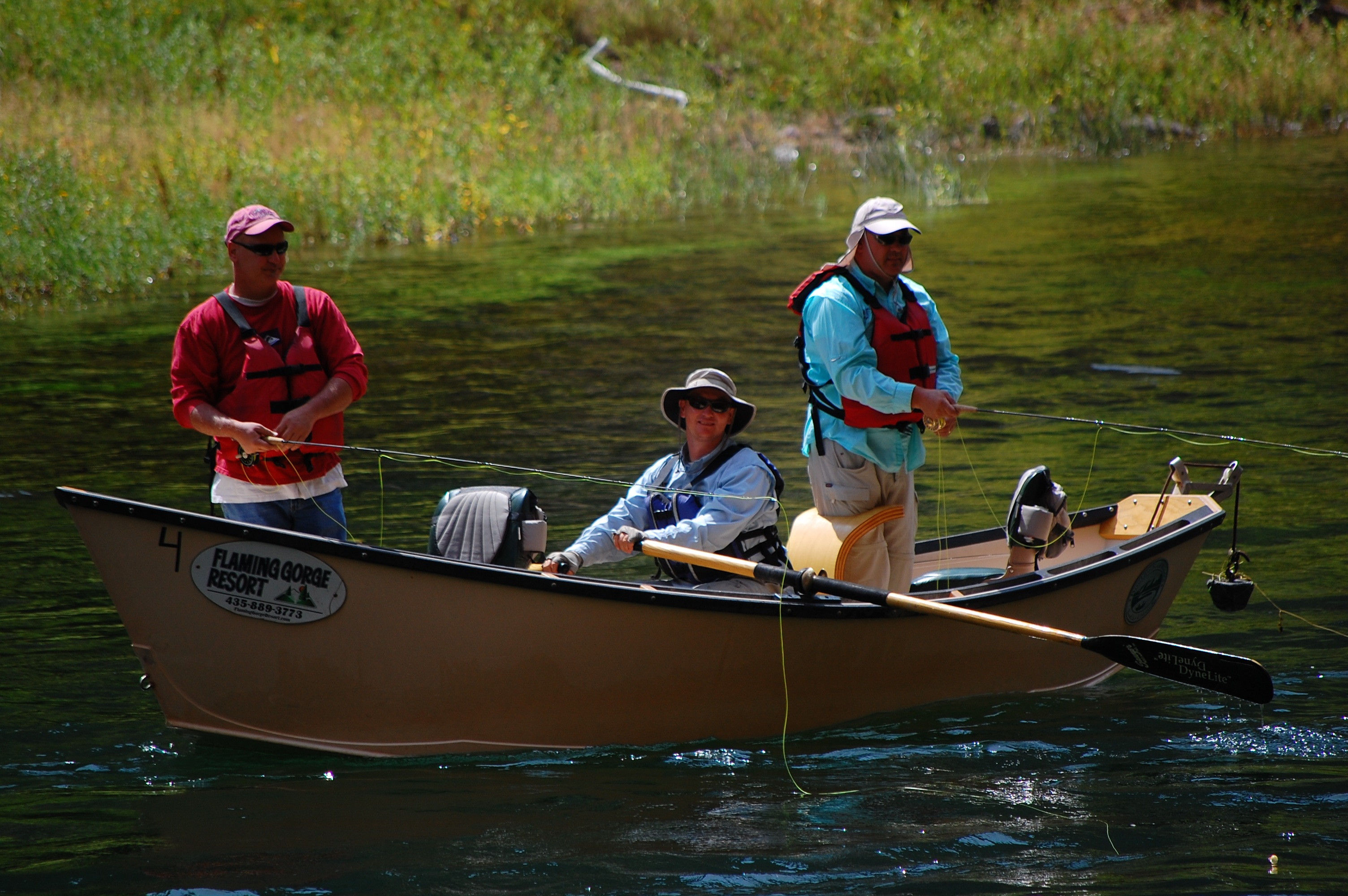 Fishing for Flaming gorge fishing guides