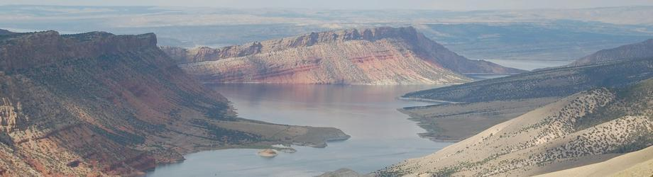 The Beautiful Flaming Gorge Reservoir