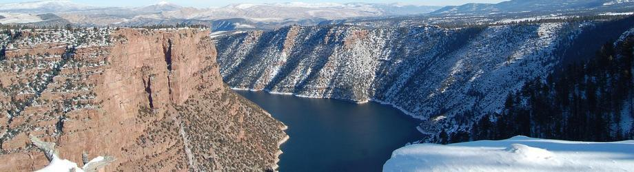 The Snowy Flaming Gorge