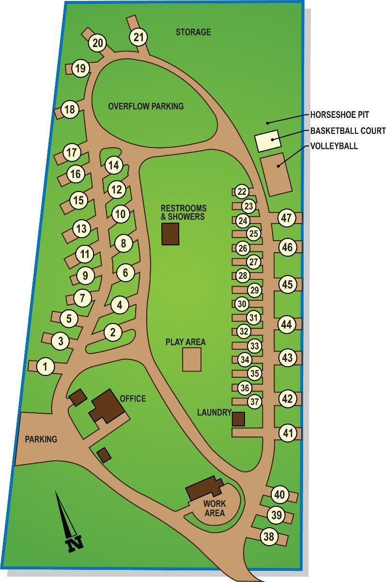 Rv Parks Utah Map.Rv Park